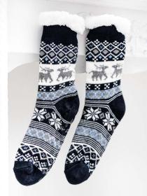 Dámské ponožky - severský vzor