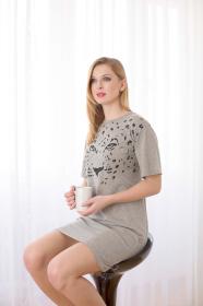 Dámská noční košile - vzor leopard